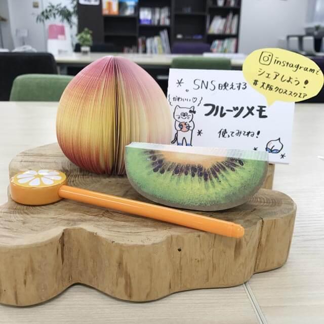 3Dフルーツメモ
