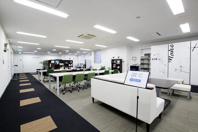 大阪クロススクエアのフリースペース